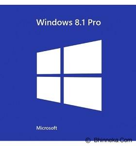 MICROSOFT Windows 8.1 Pro 64bit [FQC-06949] - Client Software Windows Os Oem